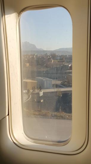 Moje okno na Kabul